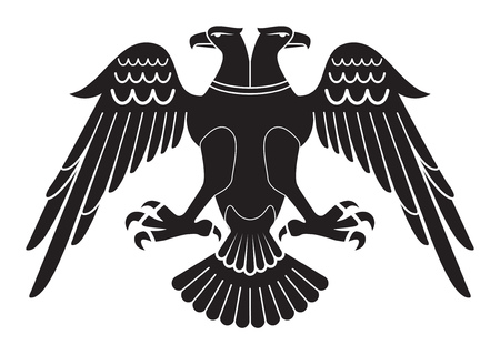 With todays understanding of the Seljuk eagle re-worked version. Illustration