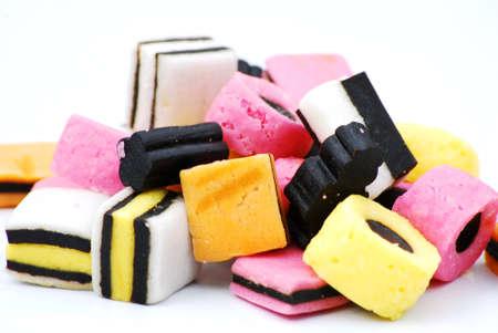liquorice: liquorice sweets