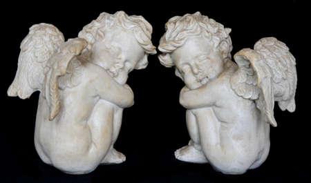 two cherubs