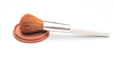 blusher: blusher and brush