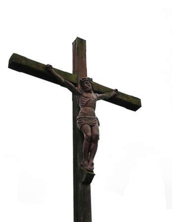Jesus on a cross