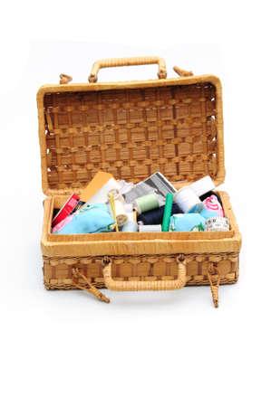darn: sewing box