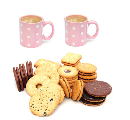 elevenses: tea and biscuits