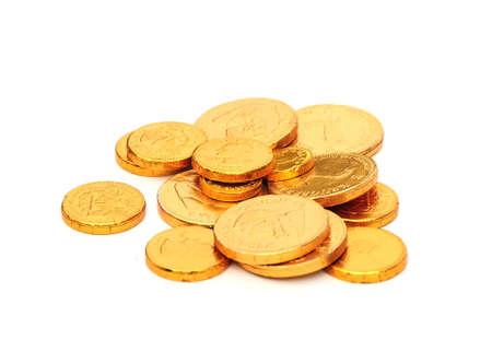 gold coins Standard-Bild