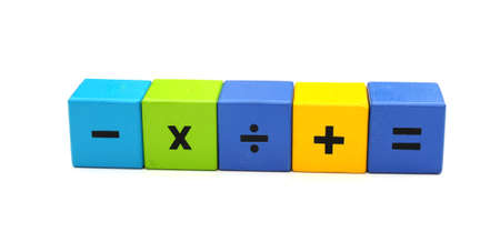 maths symbols Stock Photo