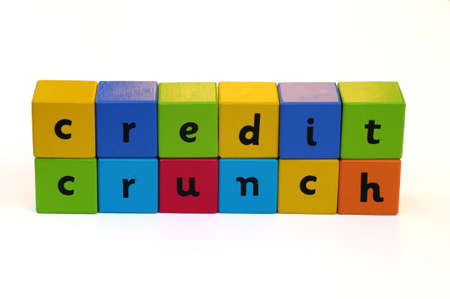 crunch: credit crunch Stock Photo