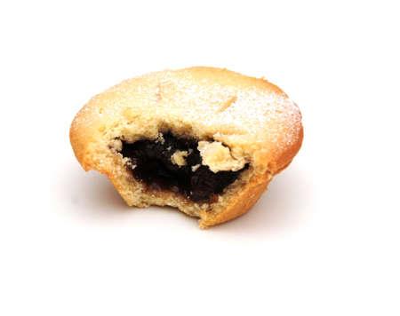 mince pie: santas mince pie Stock Photo