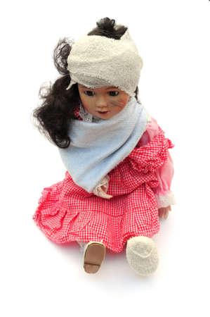 poorly: poorly doll