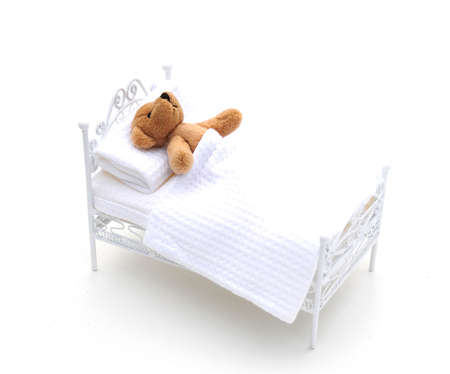 bear in bed Stock Photo - 3955781
