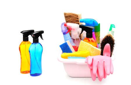 schoonmaakartikelen: schoonmaakmiddelen