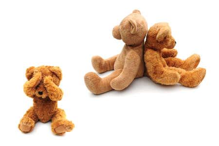 scheidung: Scheidung Konzept mit Kind mit Schreien Lizenzfreie Bilder