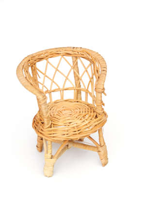 wicker chair photo