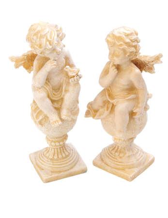 cherubs: pair of cherubs Stock Photo