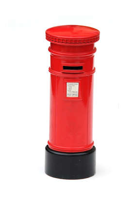 letter box: traditional post box