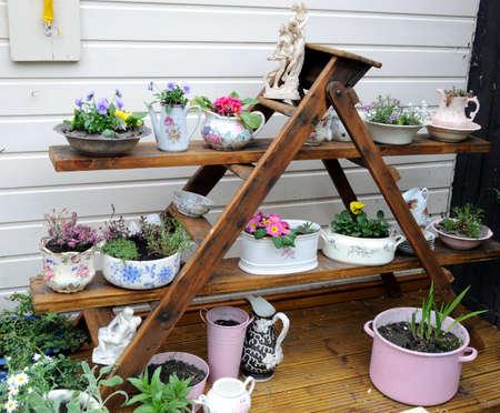 decorative garden display
