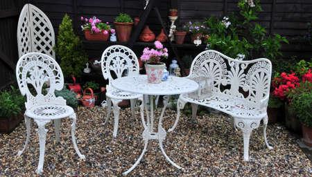 planters: patio area