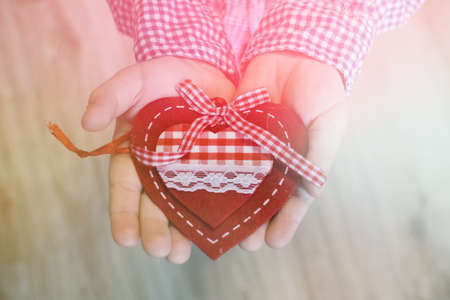 A child holding a heart valentines day, valentine