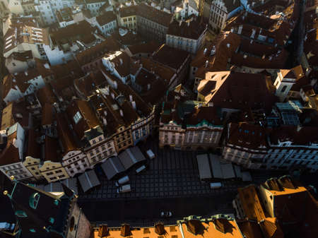 Prague Architecture of the ancient European city