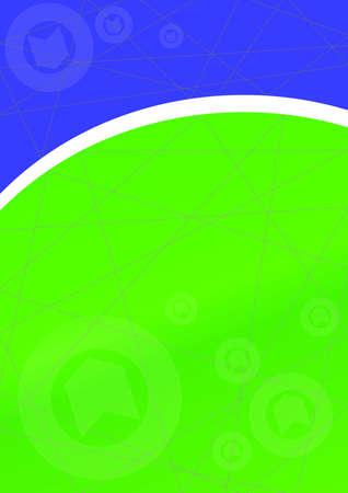 bluegreen: Background Template Blue-Green