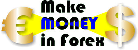 Make monay in Forex 向量圖像