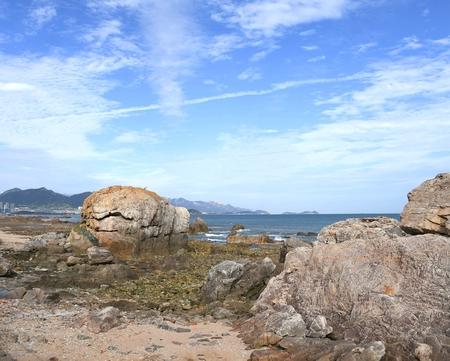 Haitian seaside scenery
