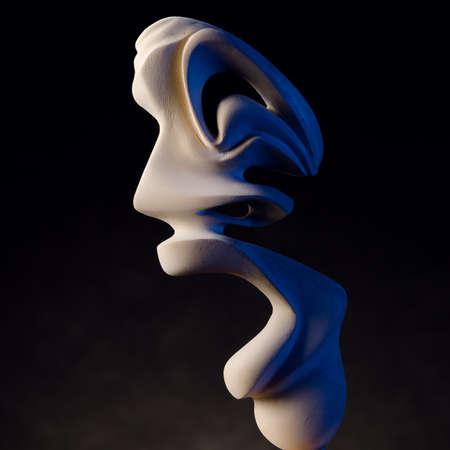 guise: guise,wooden mask, Stock Photo
