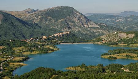 molise: Lake Castel San Vincenzo mainarde National Park Abruzzo Lazio Molise