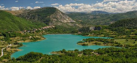 abruzzo: Lake Castel San Vincenzo National Park Abruzzo Lazio Molise