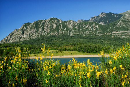 molise: Lake Castel San Vincenzo National Park Abruzzo Lazio Molise