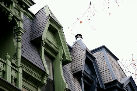 Montreal houses, Canada