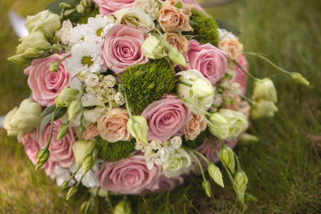 nosegay: Bidal bouquet Stock Photo