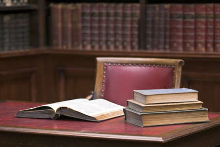 law: Open book on the table. Educational environment