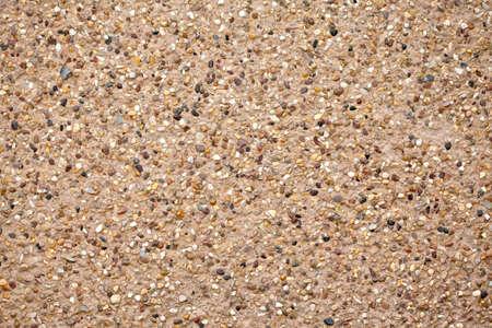 Building gravel surface facade wall texture Stock Photo