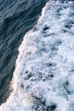 turbulent: Sea water turbulent foam splash Stock Photo