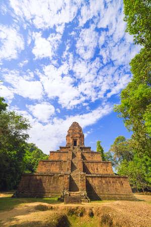 Baksei Chamkrong, 10th century Hindu temple, part of Angkor Wat complex, Siem Reap province  Cambodia.