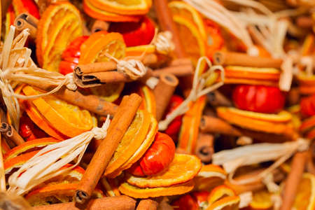 traditional christmas: Heap of Traditional Christmas aromatic dry fruits