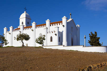 Mina de Sao Domingos christian catholic church in Alentejo region, south of Portugal.