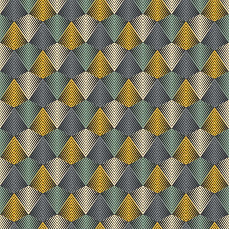 Pyramids background  Seamless pattern  Vector  Illustration