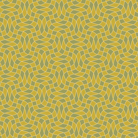 Abstract ornate grid background  Seamless pattern  Vector