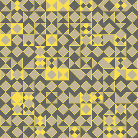 Abstract decorative geometric background  Seamless pattern  Vector