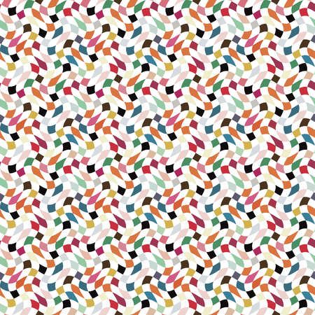 Abstract colorful geometric background  Seamless pattern