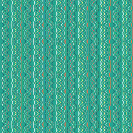 Decorative shift striped background  Seamless pattern   Vector