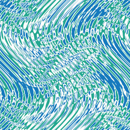 Refracted waves illusion  Seamless pattern