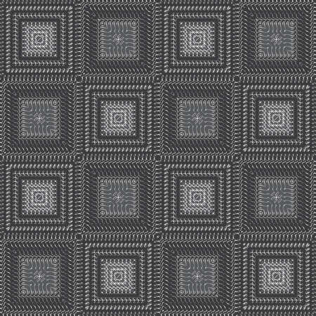 Abstract silver grid background  Seamless pattern   Vector