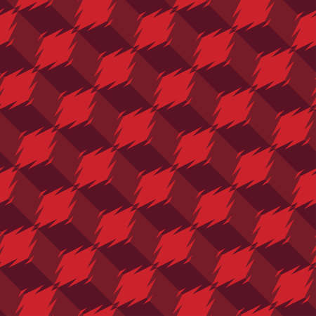 Abstract decorative geometric refracted background  Seamless pattern