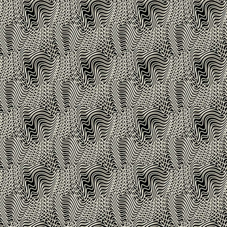 Abstract ornate old fabric fiber texture  Seamless pattern  Vector