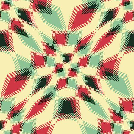 Abstract decorative geometric ornament  Seamless pattern  Vector  Illustration
