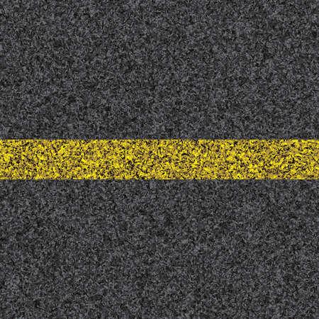 asphalt texture: Stripe on asphalt texture  Illustration  Stock Photo