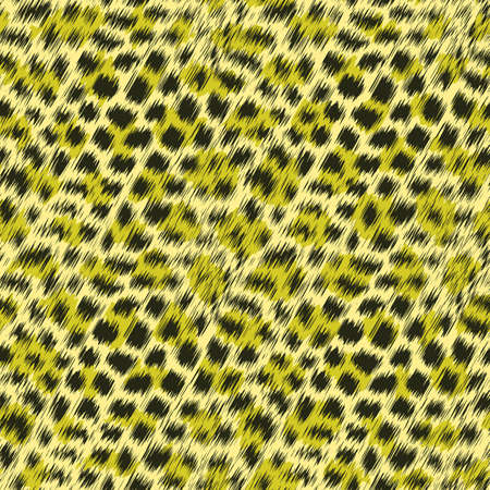 Abstract wild cat fur print  Seamless pattern  photo