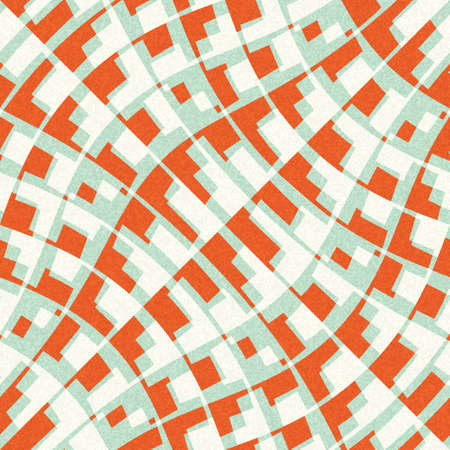 Abstract decorative city plan print  Seamless pattern  Stock Photo